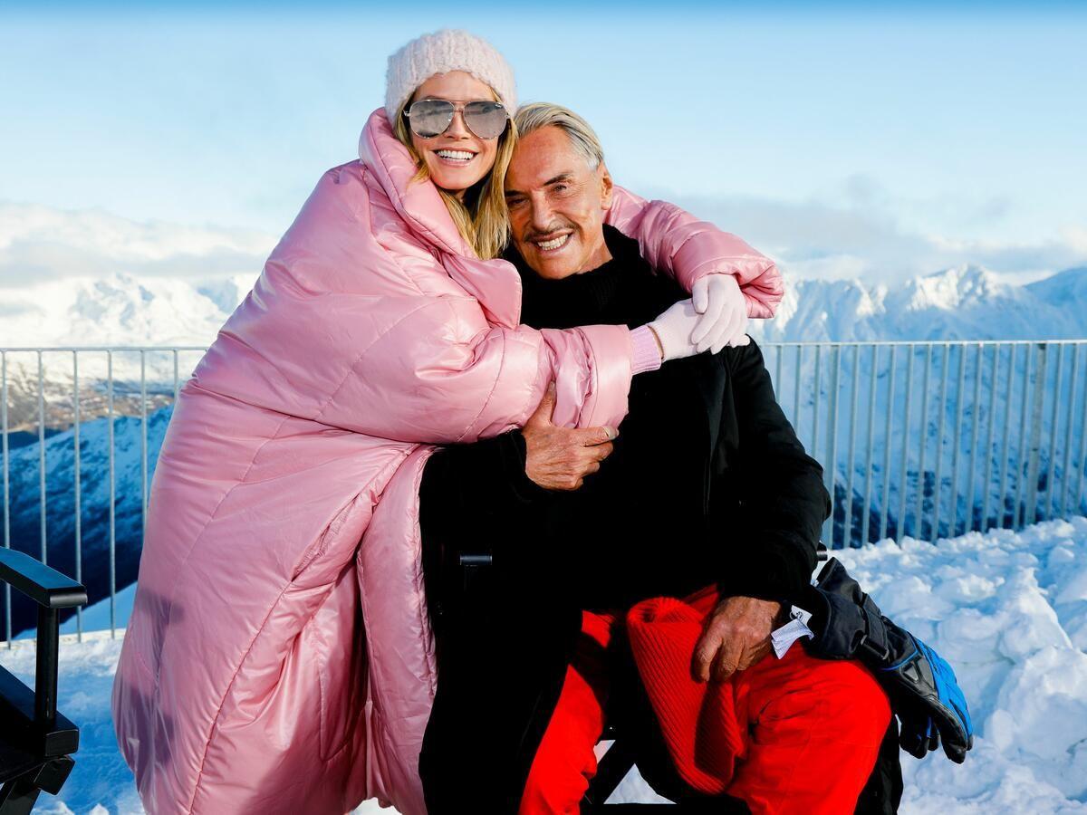 Gercke im schnee nackt lena Lena Gercke: