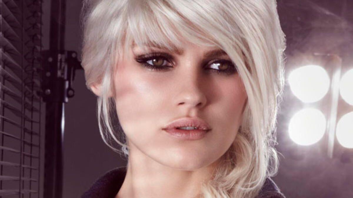 Blonde Haare: Platinblond