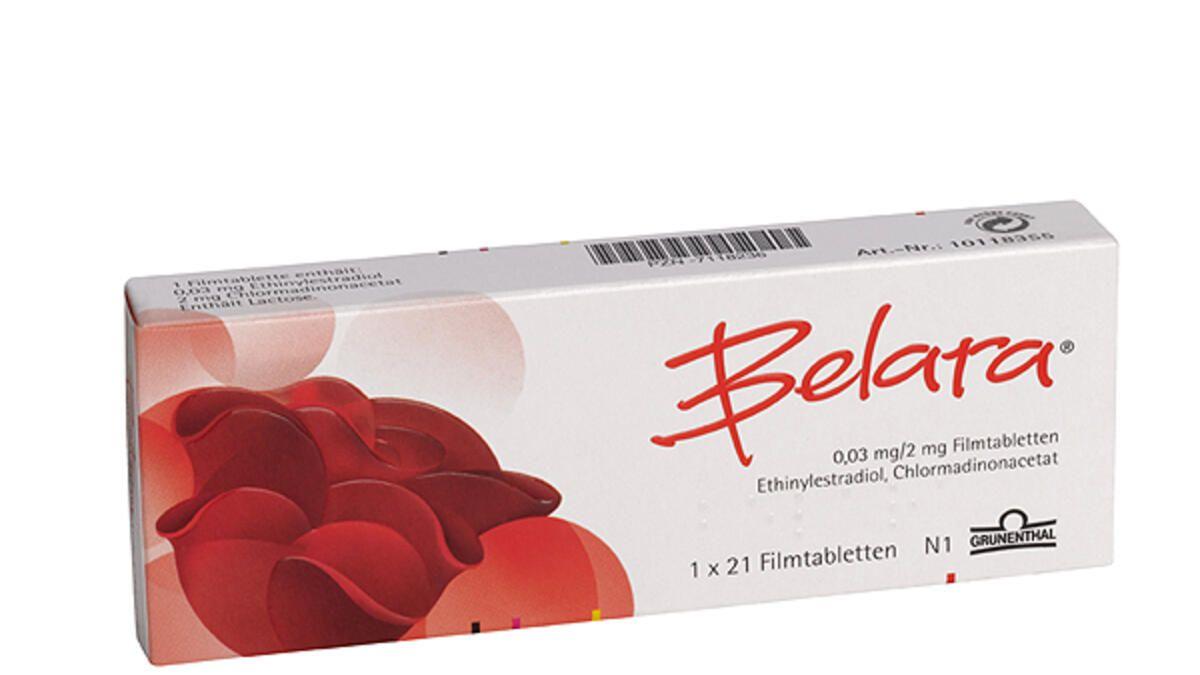 Antibabypille: Belara