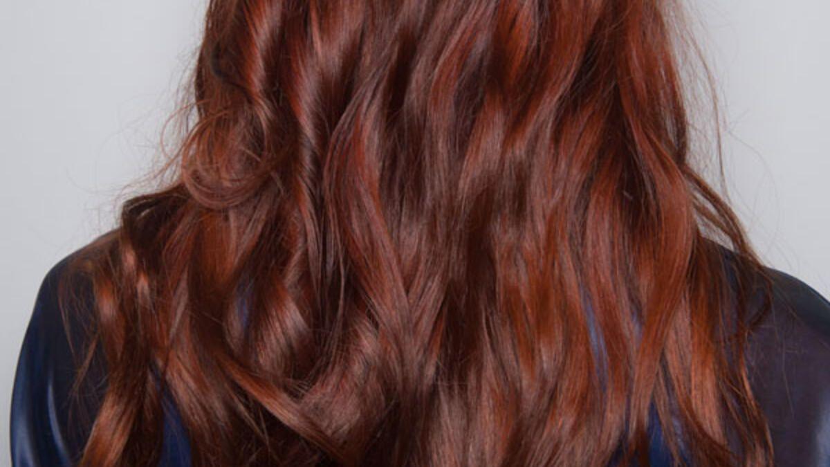 Haarfarbe Kastanienbraun