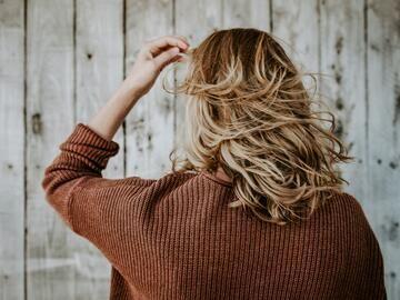 Strähnen braune haare mit frauen blonden 5 Optionen