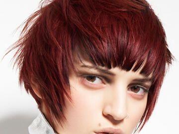 Trendfrisur Für Kurze Rote Haare