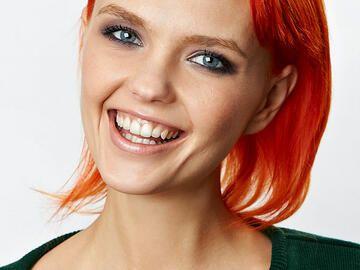 Rote Haare In Orange Nuancen