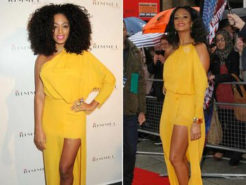 Solange Knowles vs. Alesha Dixon