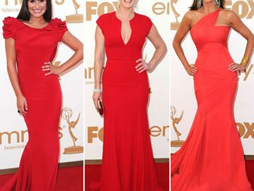 Emmy Awards 2011: Trendfarbe Rot!