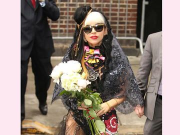 Lady Gaga bei Letterman in New York