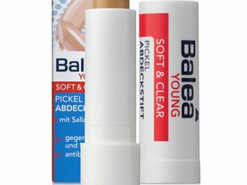 Balea Soft + Clear gegen Pickel