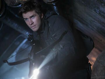 Liam Hemsworth in Mockingjay 2