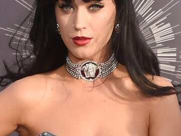Katy Perry mit Pony-Frisur