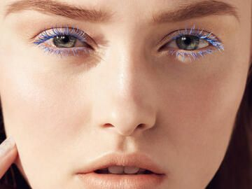 Make-up Trend: bunte Wimpern