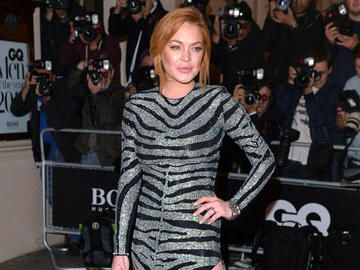 Lindsay Lohan: GQ Men Of The Year Awards 2014