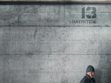 Poster: Haymitch (Woody Harrelson)