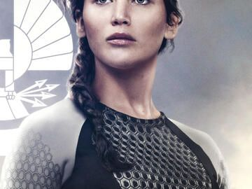 "Filmfrisur von Jennifer Lawrence in ""Hunger Games"""