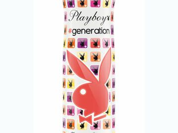 Ohne Aluminium: Body Spray Playboy #generation