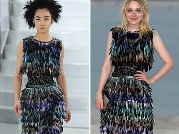 Dakota Fanning in Chanel Couture