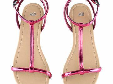 Pinke Sandalen von H&M