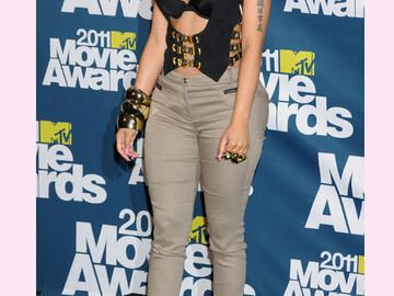 Nicki Minaj bei den MTV Movie Awards 2011