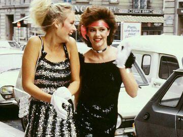 Mode Der 80er Frauen