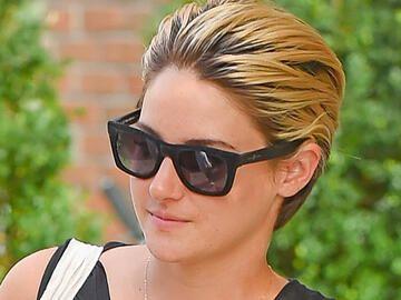 shailene woodley mit blonden strähnen
