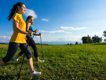 Kalorienverbrauch Nordic Walking