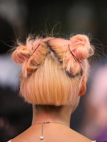 Frisuren zwei dutts