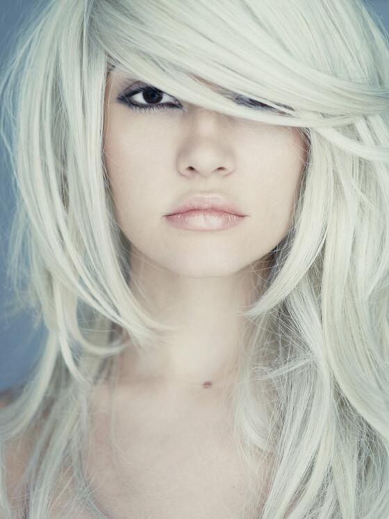 Frisuren blond lang stufig