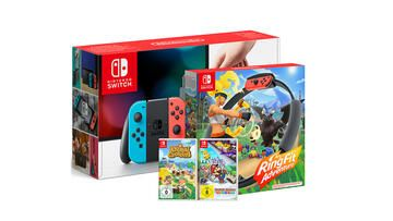 Nintendo Switch Ring Fit Adventure Animal Crossing